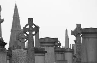 necropolis, gravestones, cemetery