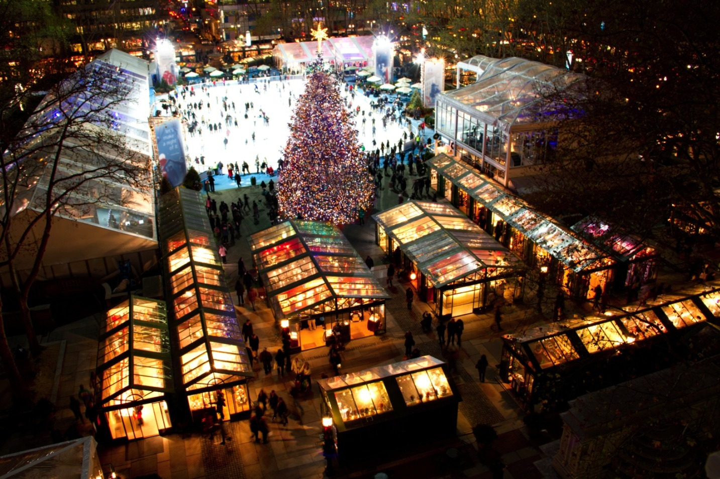 NYC holiday markets
