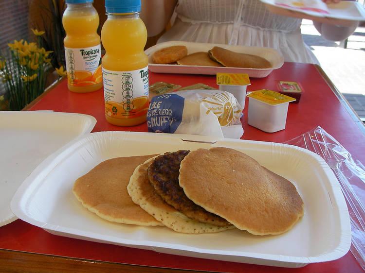 McDonalds hot cakes/all-day breakfast