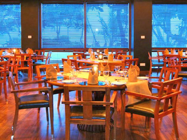 BBQ dinner at Jute Restaurant