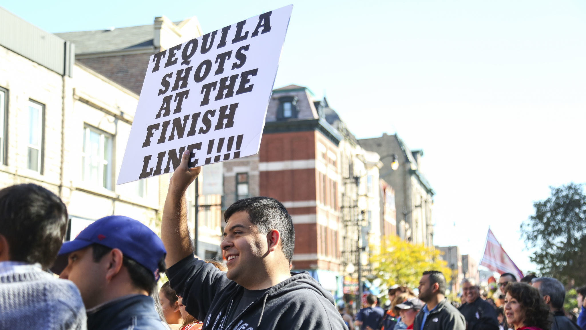 Chicago Marathon 2015 funniest spectator signs