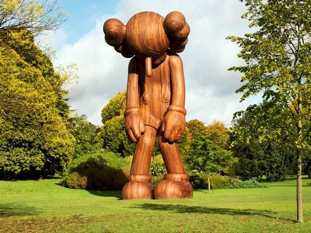 Frieze Sculpture Park 2014: KAWS  Galerie Perrotin.
