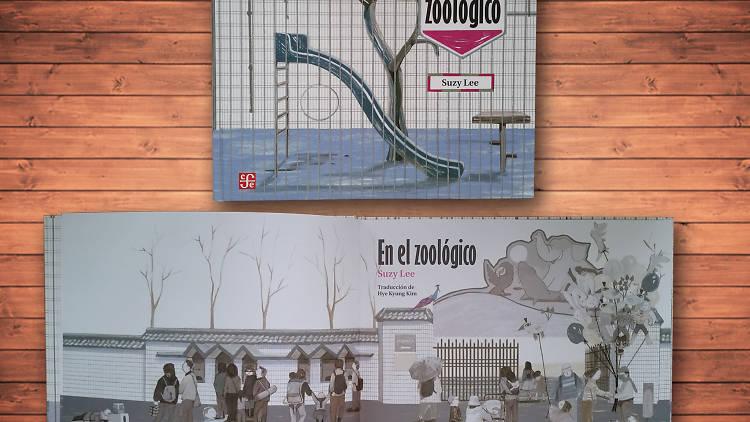 En el zoológico es un libros para niños
