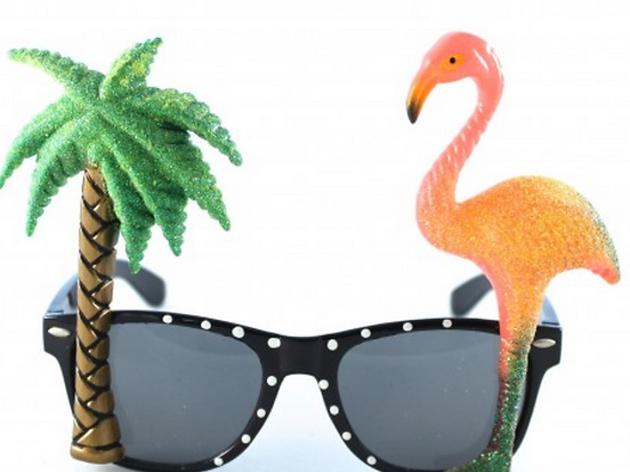 Des lunettes de soleil sixties