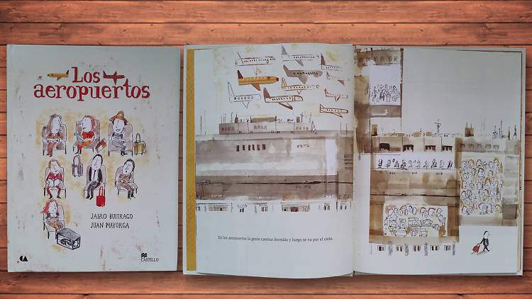 Libro para niños Los aeropuertos