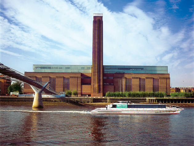 101 Things To Do in London: Tate Boat