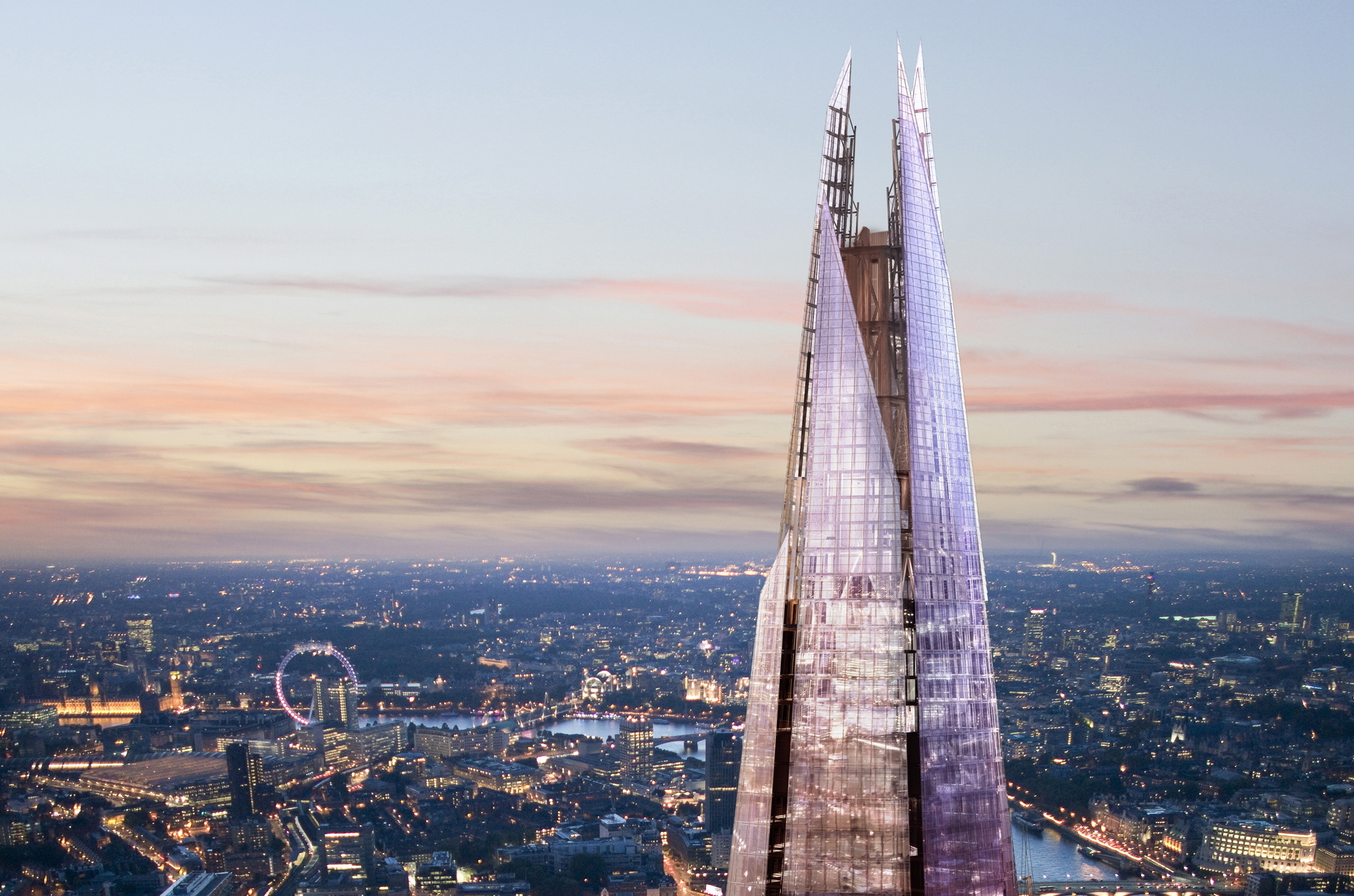 Admire London from above at The View from The Shard