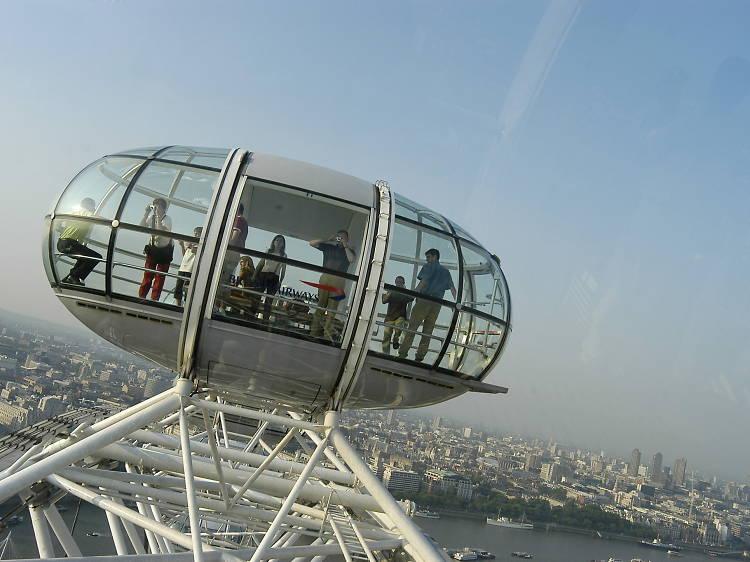 Take a ride on the London Eye