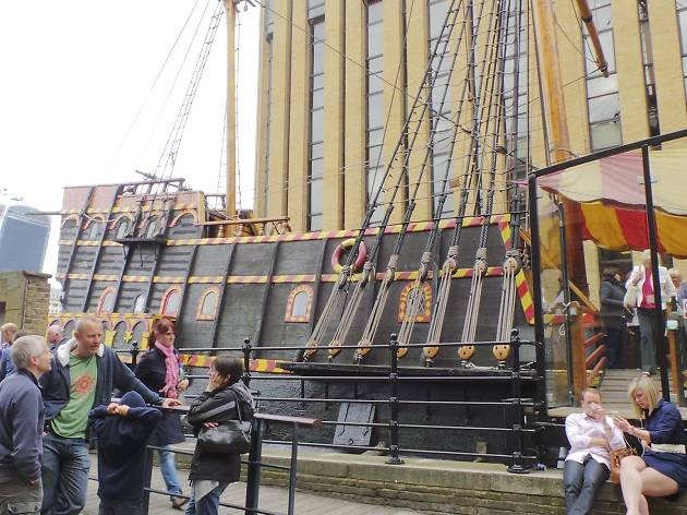 Spend the night aboard Sir Francis Drake's flagship