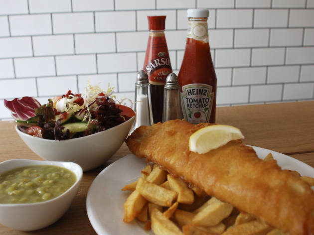 Watch your fish and chips being fried on CCTV at Kerbisher and Malt