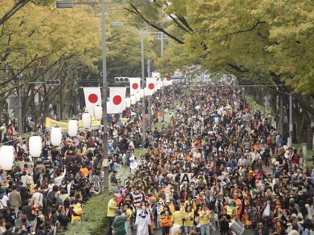 Harajuku-Omotesando Hello Halloween Pumpkin Parade