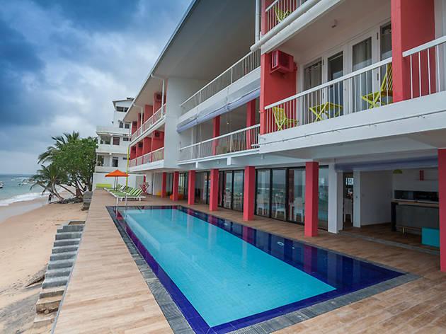 where to stay at Hikkaduwa