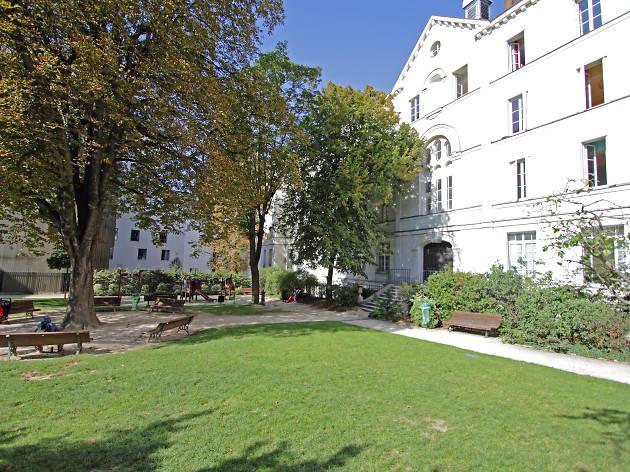 Le square du pavillon Carré de Baudouin