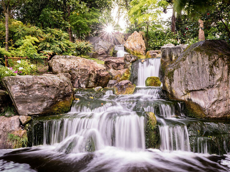 Kyoto garden at Holland Park
