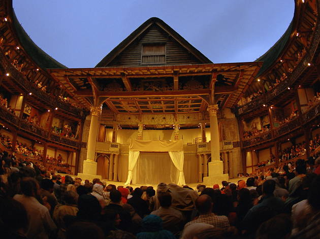 See theatre Elizabethan style with a groundling ticket to the Globe