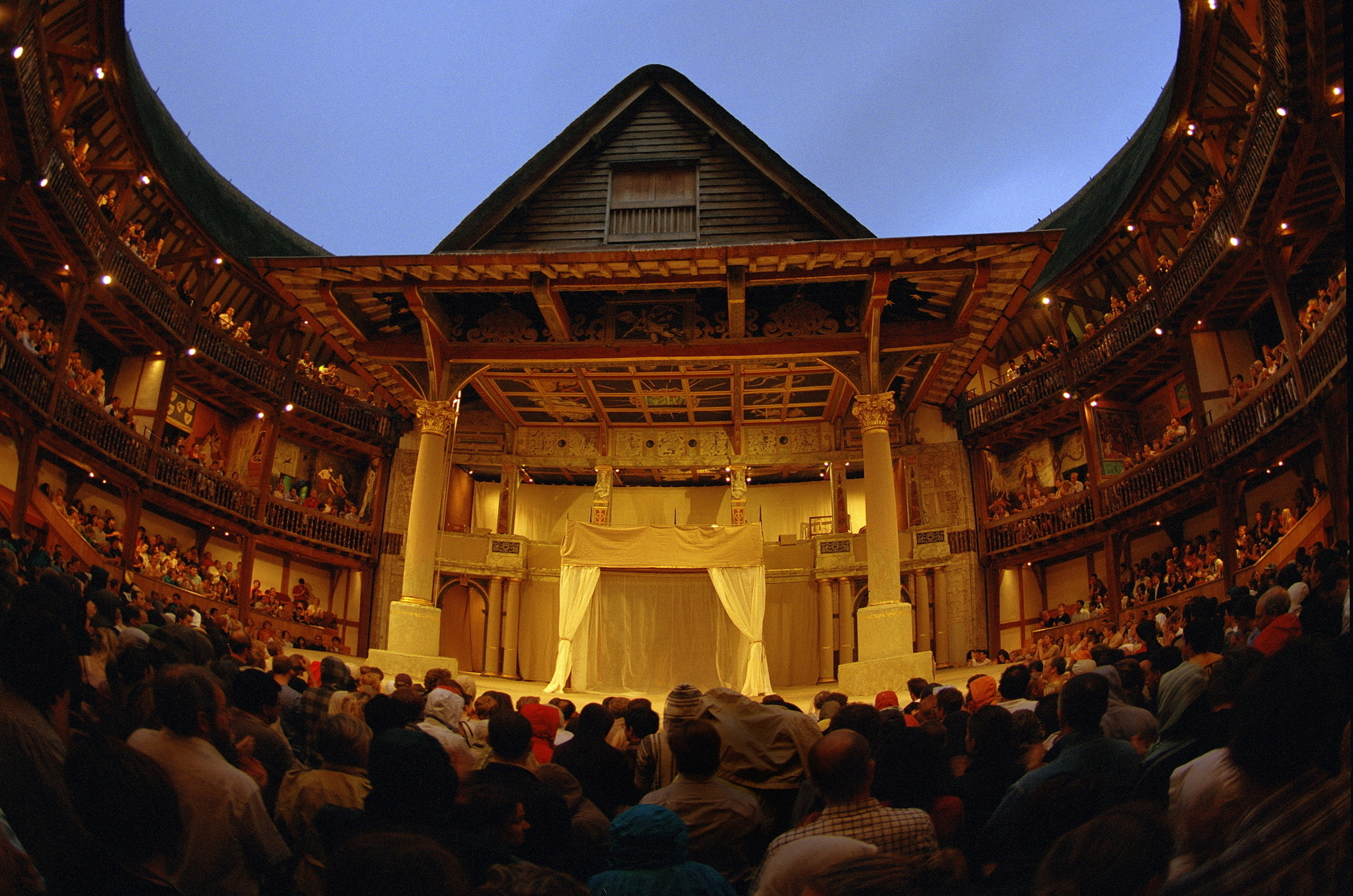 Watch a play Elizabethan-style with a groundling ticket to the Globe