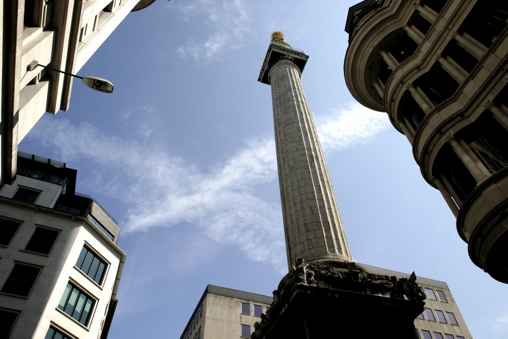 Climb the Monument's 311 steps