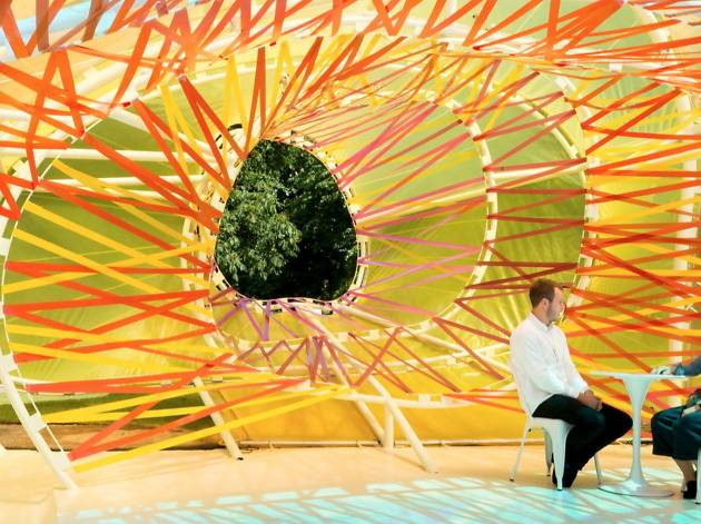 Visit the Serpentine Gallery's summer pavilion