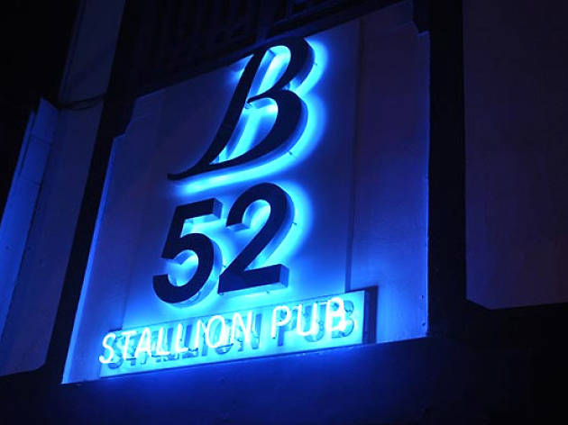 DJ music night at B52 night club