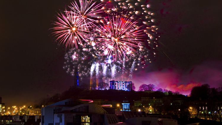 Things to do before New Year in Edinburgh
