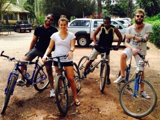 Aburi Cycling and Picnic (Day Trip)