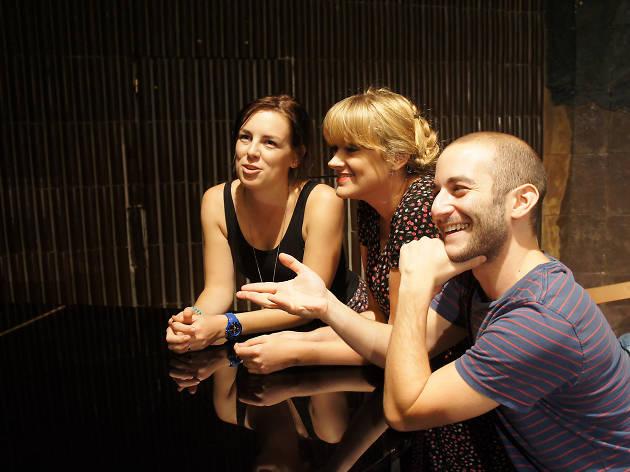 BIG: Barcelona Improv Group, Ella, Kayleigh, Evan