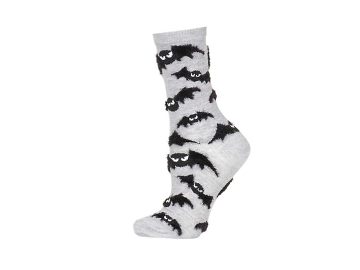 Topshop fluffy bat socks, £3