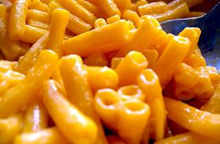 Macaroni and cheese. Or mac and cheese for short.