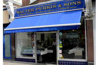 Walter Purkis & Sons, fishmonger, Muswell Hill