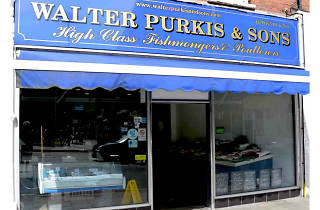 Walter Purkis & Sons, fishmonger, Crouch End