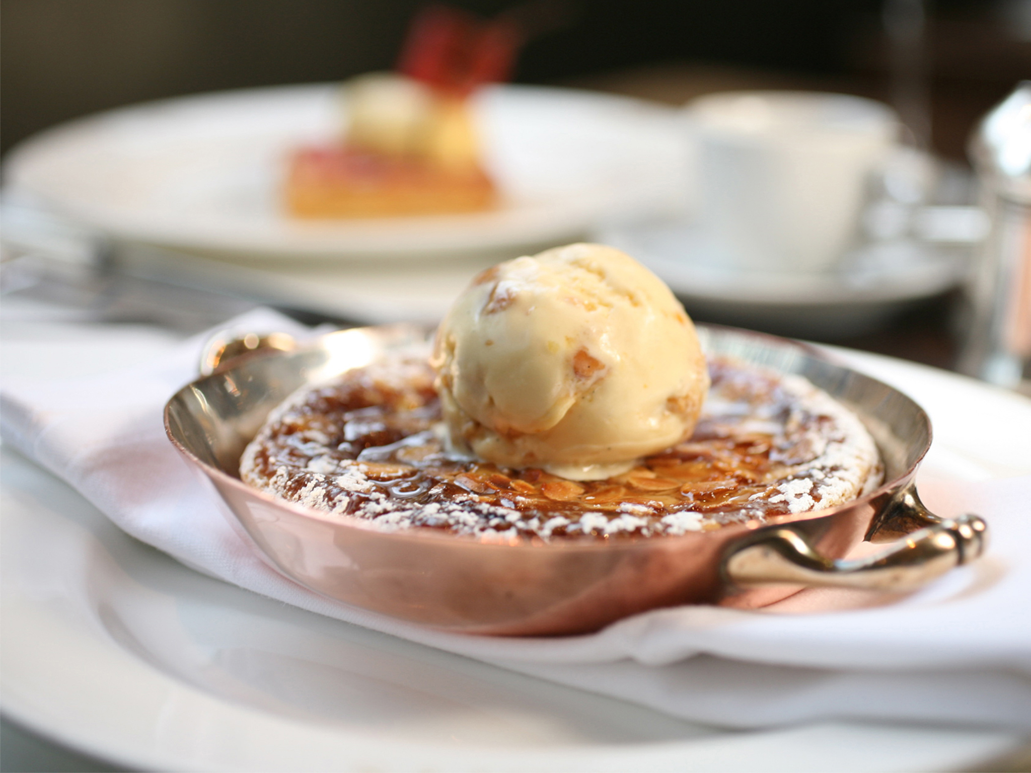 London's most comforting puddings, scott's, bakewell tart