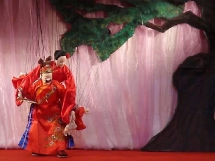 Les marionnettes taïwanaises de Jin Fei Feng