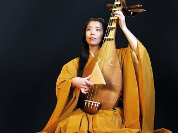 L'épopée japonaise des Heike contée en musique par Junko Ueda