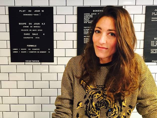 La Parisienne de la semaine : Chloé Georgouleas, le nouveau visage du sans gluten