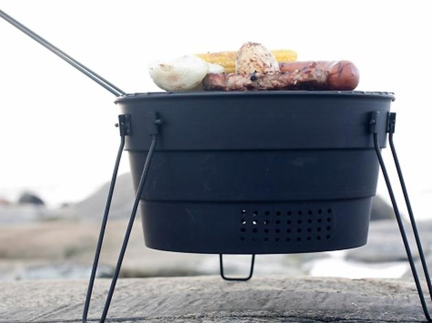 Un pop-up grill