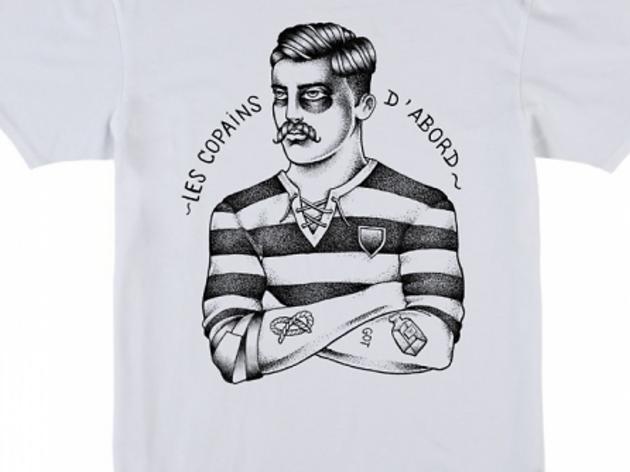 Un t-shirt Les Copains d'abord