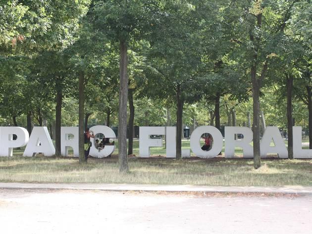 Dépaysement total au parc Floral