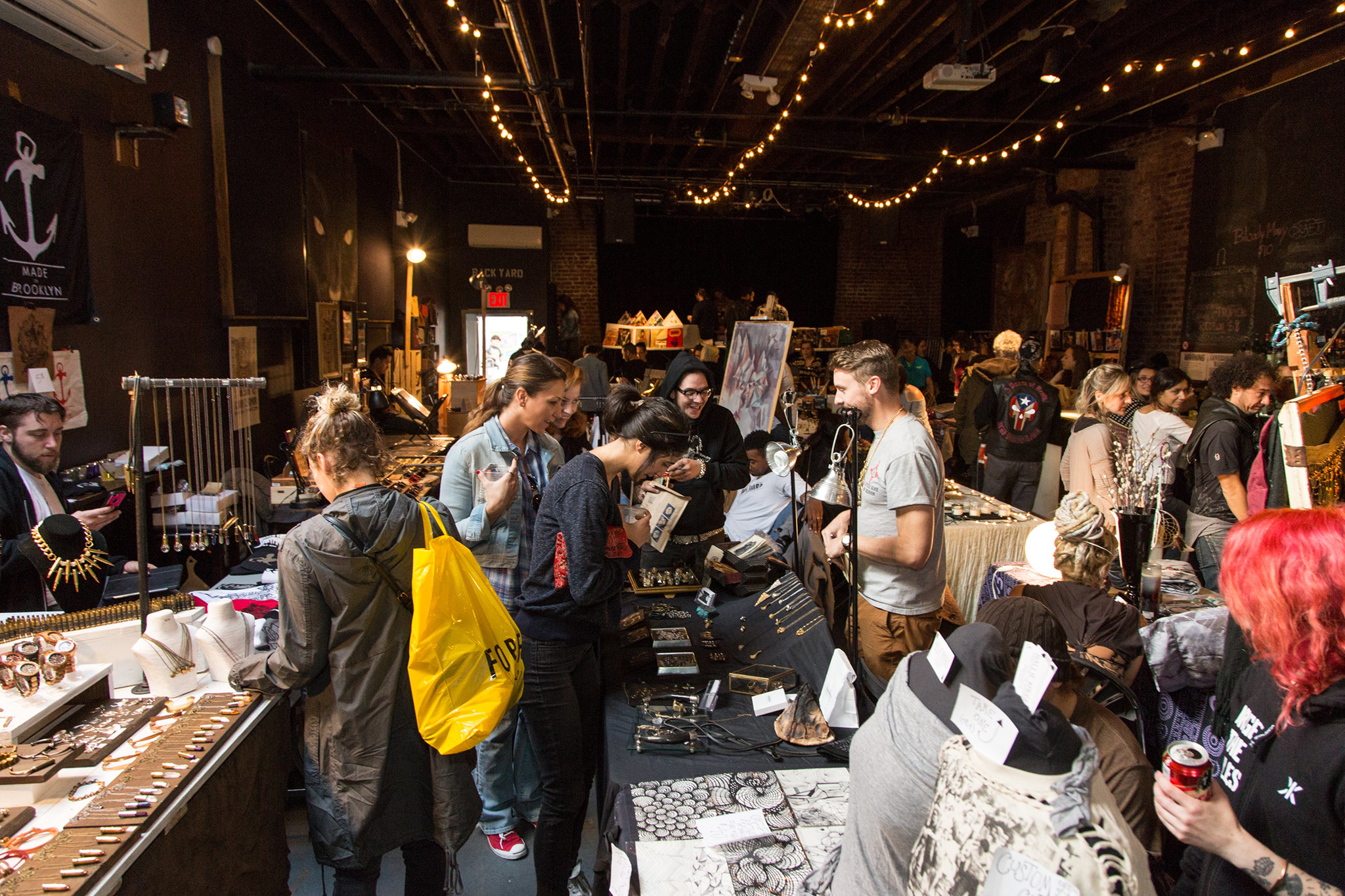 Check out these awesome photos from the Rock n' Shop flea market