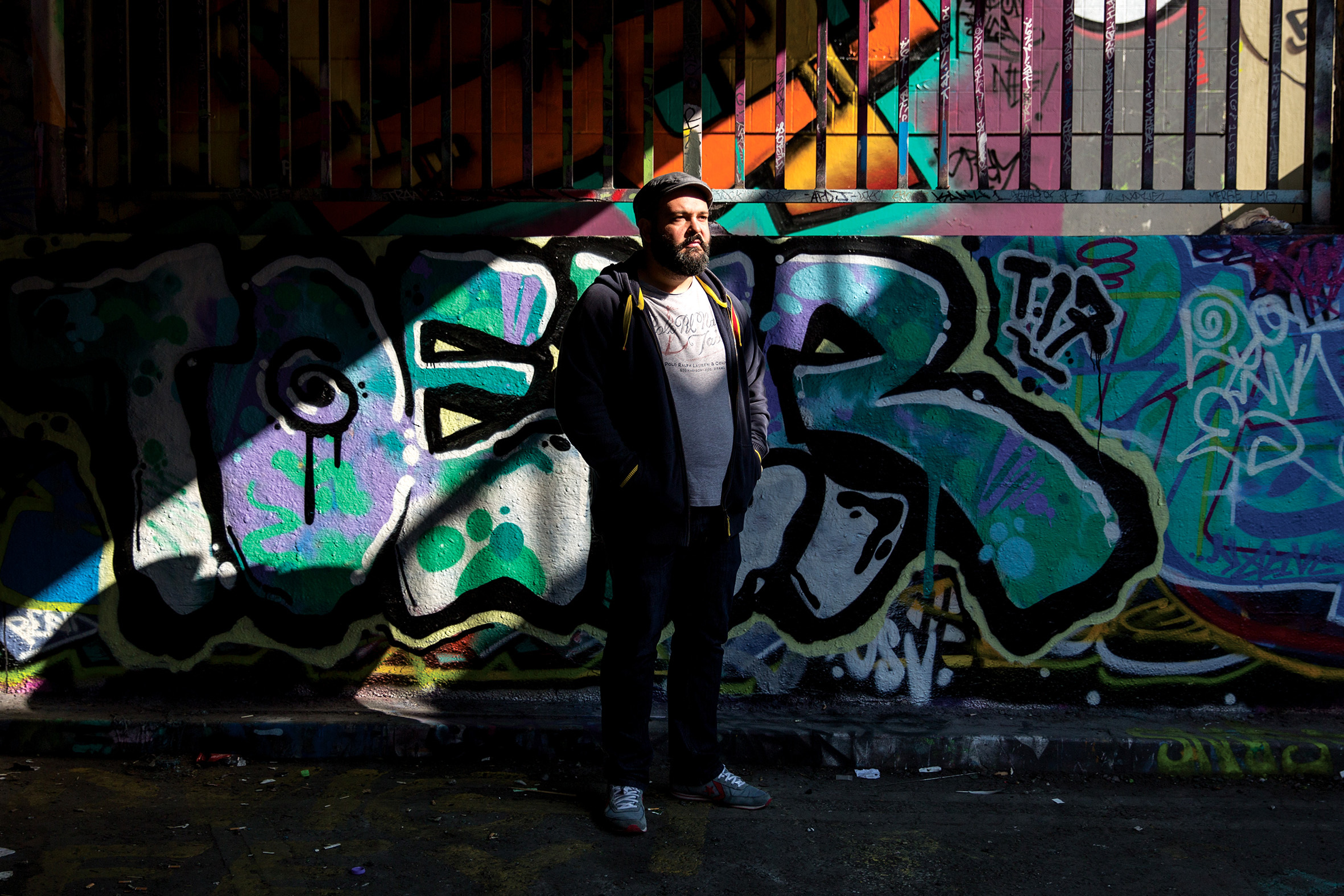 Ibrahim Fakhri is an artist who moved to London in 2013.