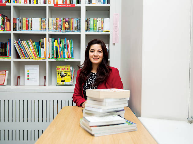 Fardous Bahbouh is a linguist and voiceover artist. She has lived in London for five years.