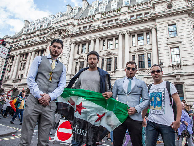 We met the activists who took part in London's refugee march