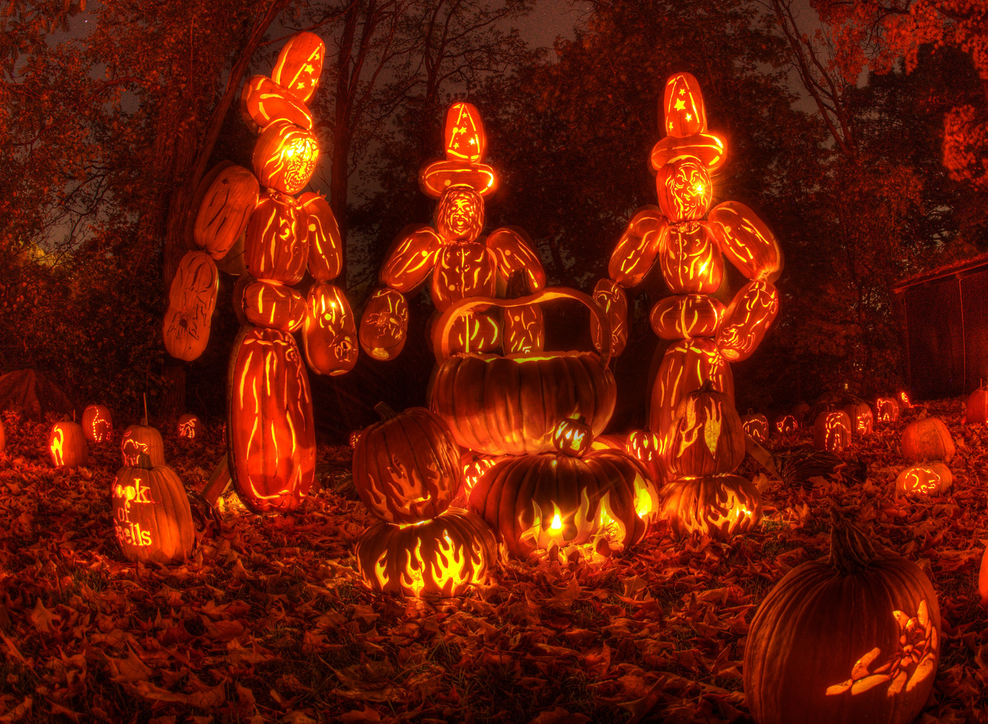 Check out this insane jack o' lantern display in Croton-on-Hudson