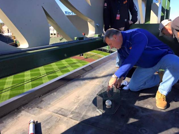 Cubs enshrine Kyle Schwarber home run ball