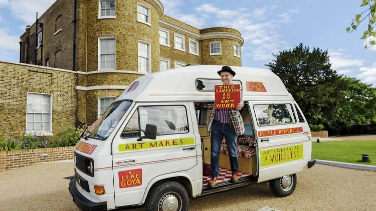 Bob and Roberta Smith's guide to free art in London