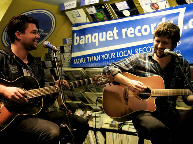 Taking Back Sunday at Banquet Records