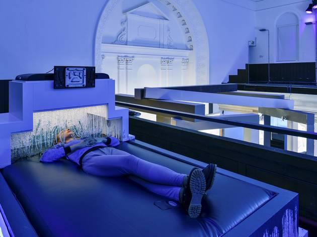 (Installation view Jon Rafman, 2015 at Zabludowicz Collection, London. Photo: Thierry Bal)