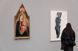 (Moretti Fine Art / Hauser & Wirth, Frieze Masters 2015. Photo: Mark Blower. Courtesy of Mark Blower/Frieze.)