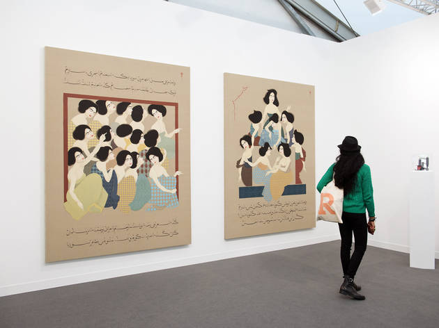 (Frieze Masters 2015. Photo: Mark Blower. Courtesy of Mark Blower/Frieze.)