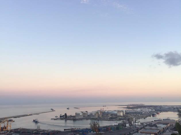 vistes del port des de la caseta del migdia