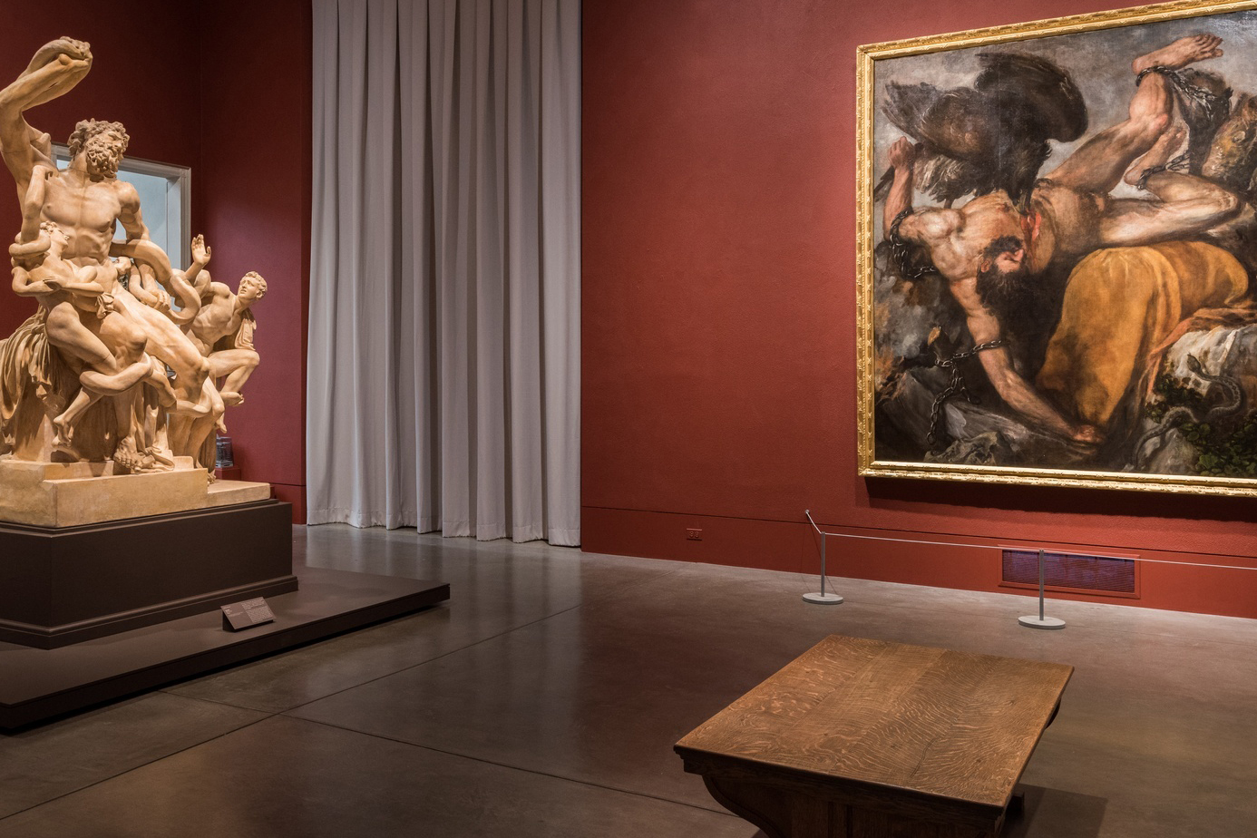 """The Wrath of the Gods: Masterpieces by Rubens, Michelangelo, and Titian"""